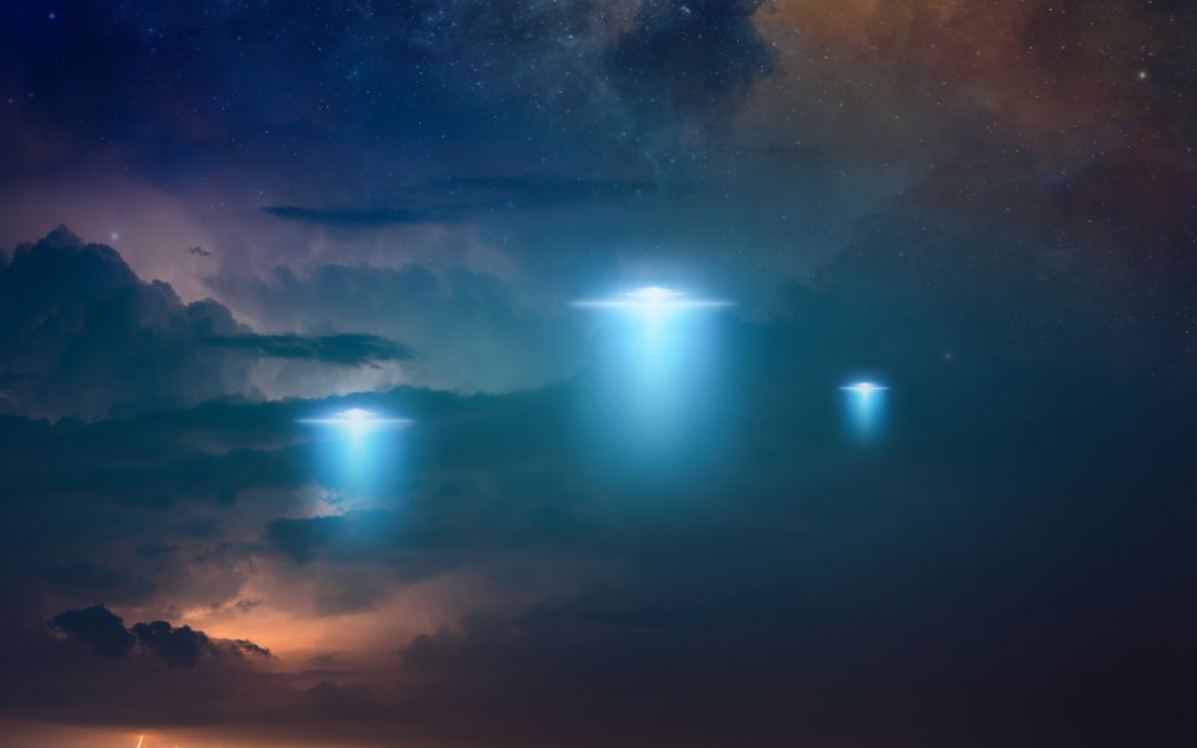Chased by 3 UFOs